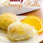 Easy Orange Rolls
