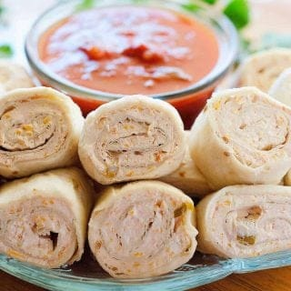 Salsa Roll Ups recipe