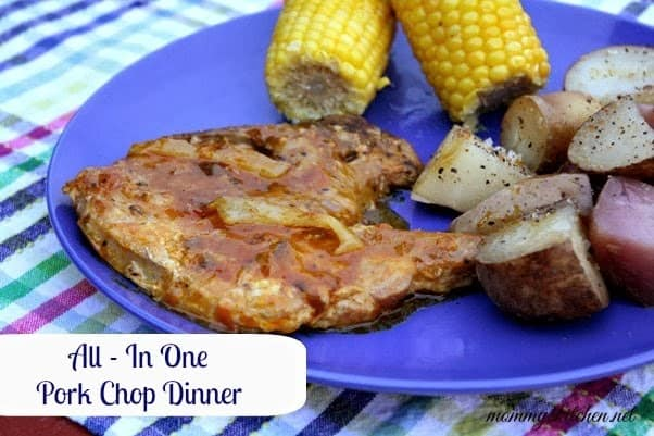 ALL-IN-ONE PORK CHOP DINNER