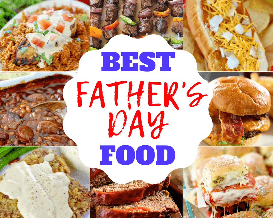 Best Father's Day Food Recipes from The Country Cook