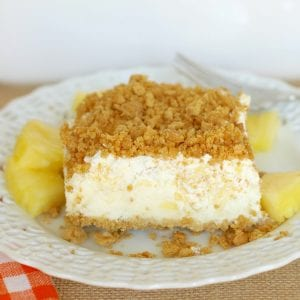 No Bake Pineapple Dream Dessert