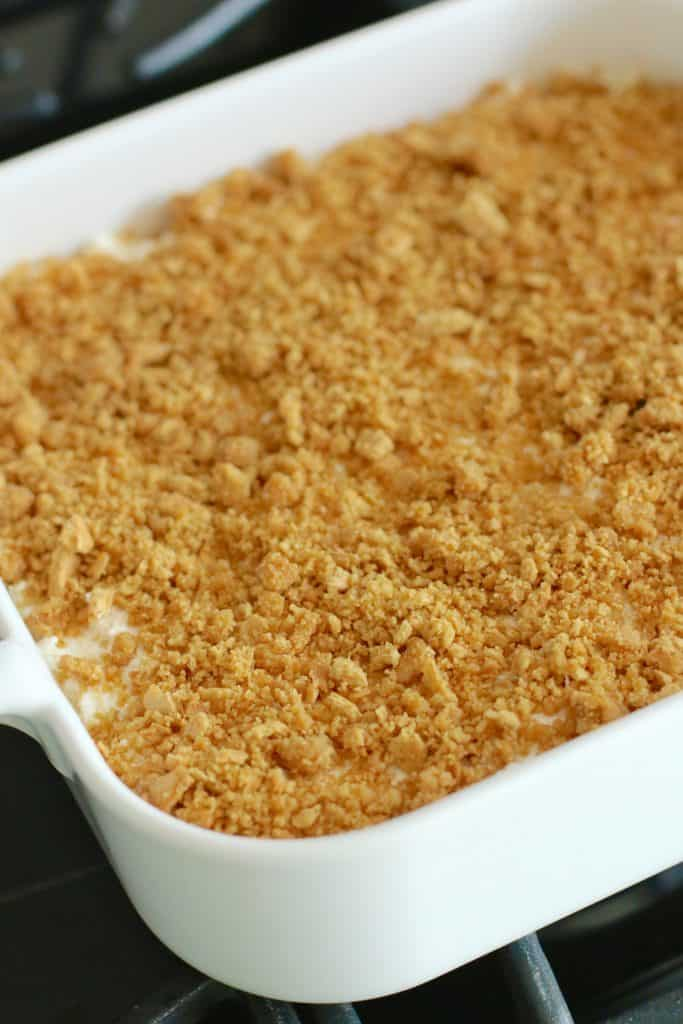 graham cracker topping
