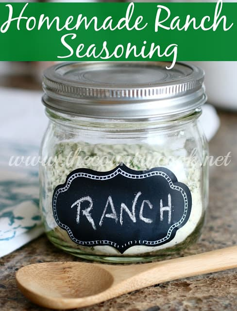 Homemade Ranch Seasoning recipe from The Country Cook