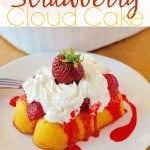 Strawberry Cloud Cake