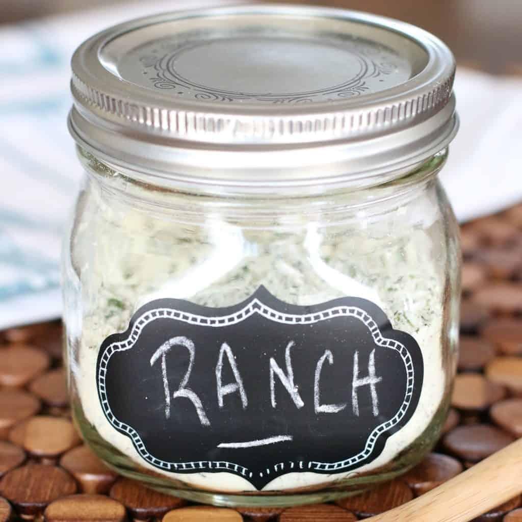 Dry Ranch Dressing Seasoning Mix