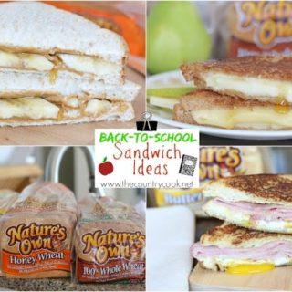 Back-To-School Sandwich Ideas