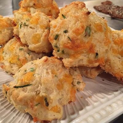 White Lily Cheddar Chive Biscuits