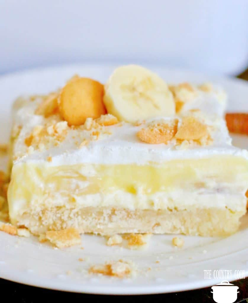 Banana Cream Pie Dessert recipe