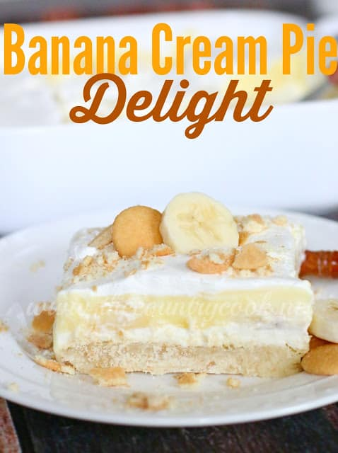 Banana Cream Pie Delight