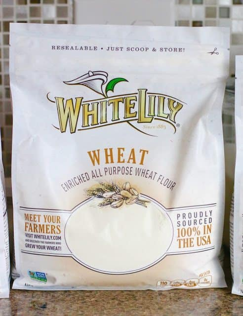 White Lily wheat flour