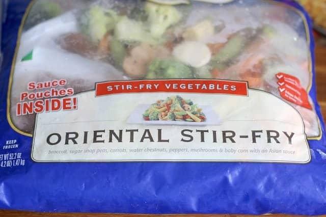Oriental Frozen Stir Fry Vegetable Bag