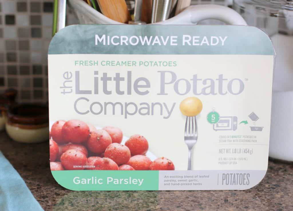 Microwaveable Little Potatoes
