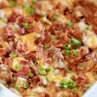 Bacon Cheddar Potatoes recipe
