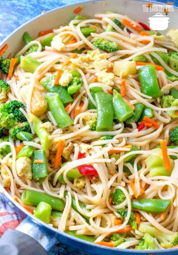 Meatless Monday Oriental Stir Fry