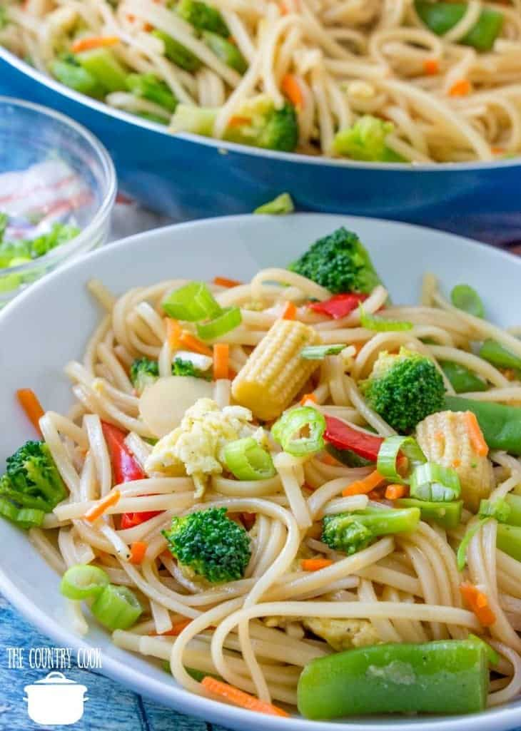 Easy Vegetable Stir Fry recipe from The Country Cook