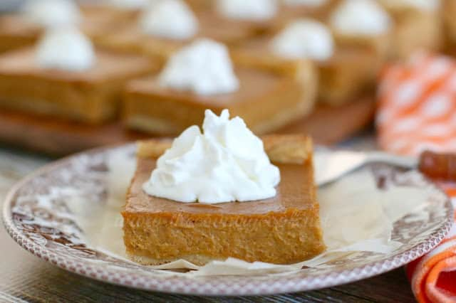 Pumpkin Pie Bars The Country Cook