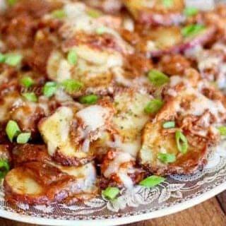 BBQ Potato Nachos
