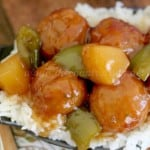 Crock Pot Sweet & Sour Meatballs