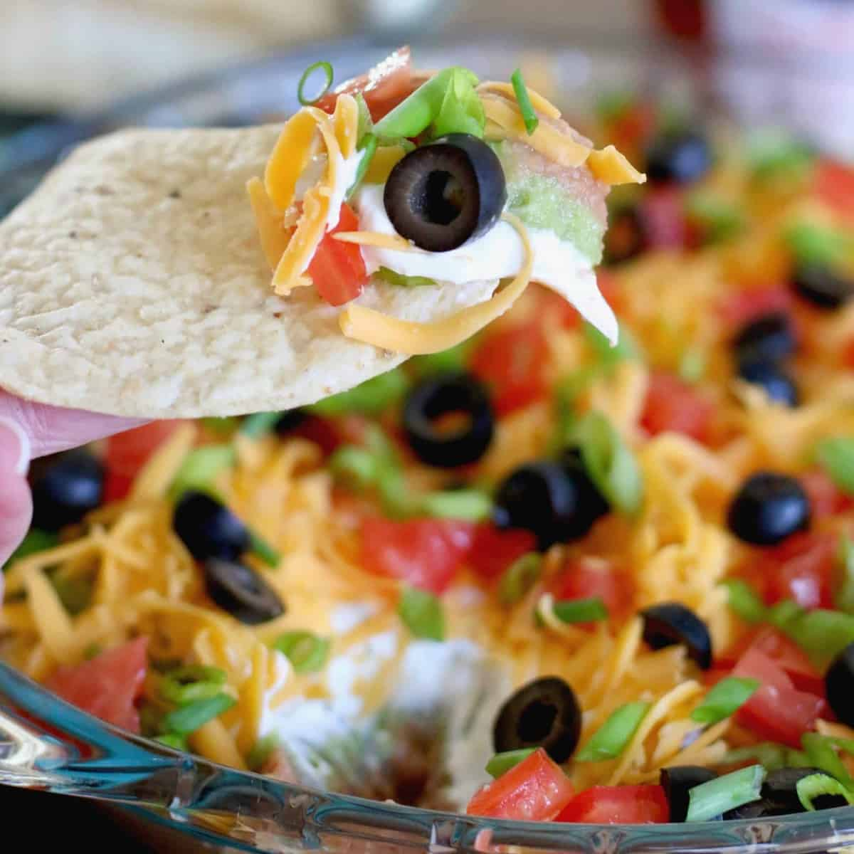 Mexican 7-Layer Dip recipe