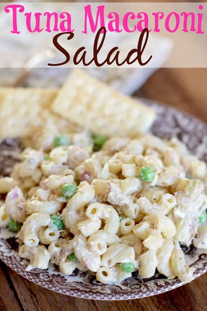Tuna Macaroni Salad The Country Cook
