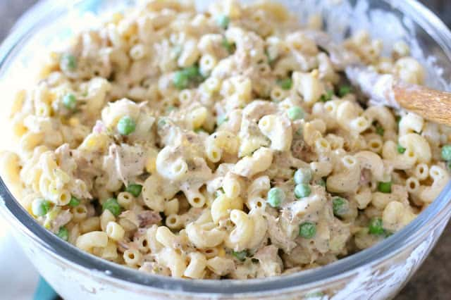 Tuna Macaroni Salad - The Country Cook