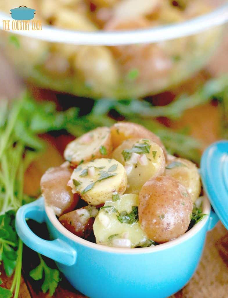 Fresh Herb Vinaigrette Potato Salad