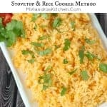 Mexican Rice ~ Weekend Potluck #205