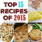 Top 15 Recipe Posts of 2015
