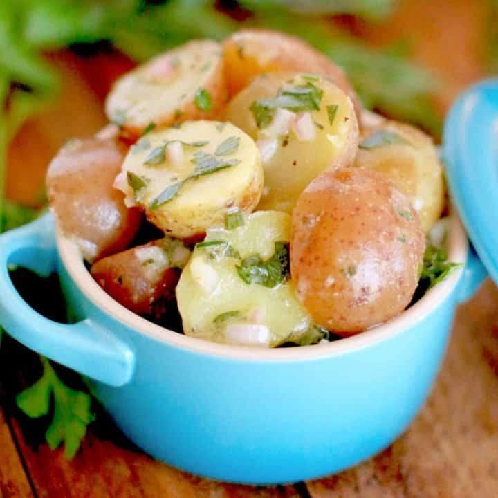 French Potato Salad with Fresh Herb Vinaigrette