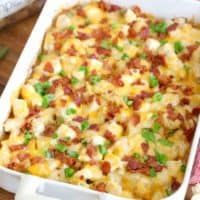 Loaded Potato Ranch Chicken Casserole recipe