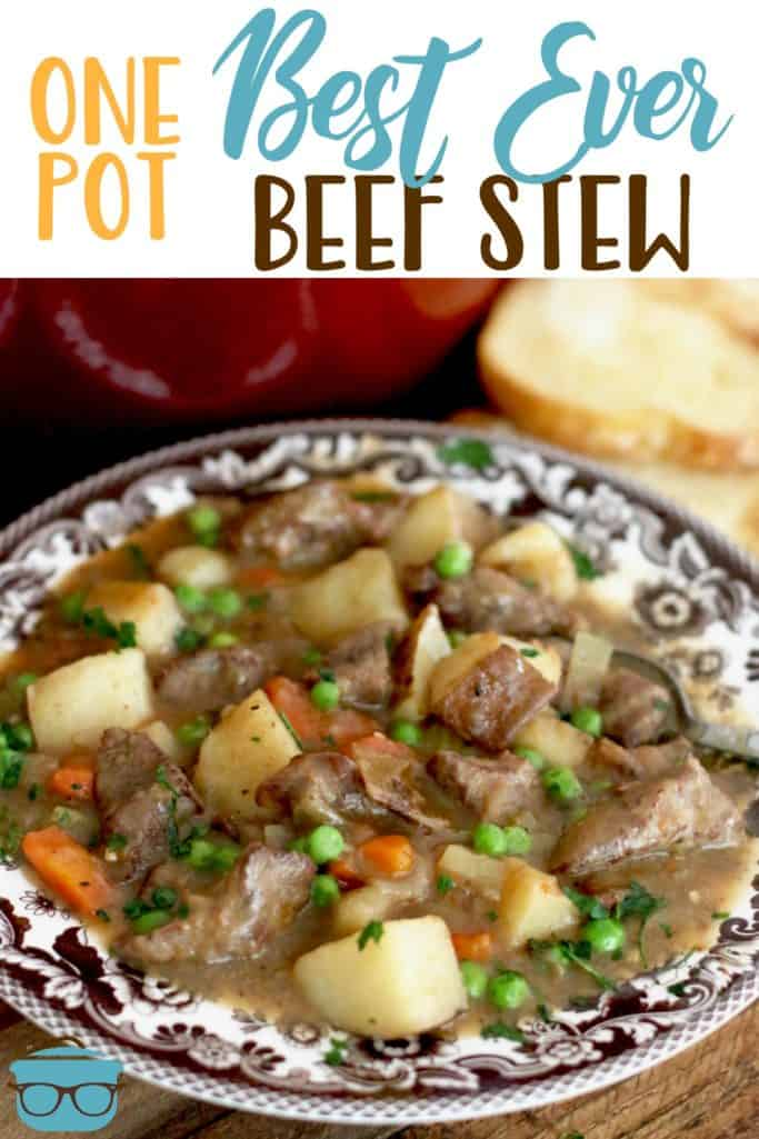 One Best Ever Beef Stew recipe from The Country Cook