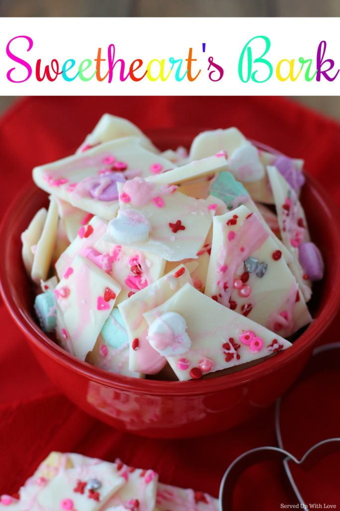 Sweetheart's Bark recipe