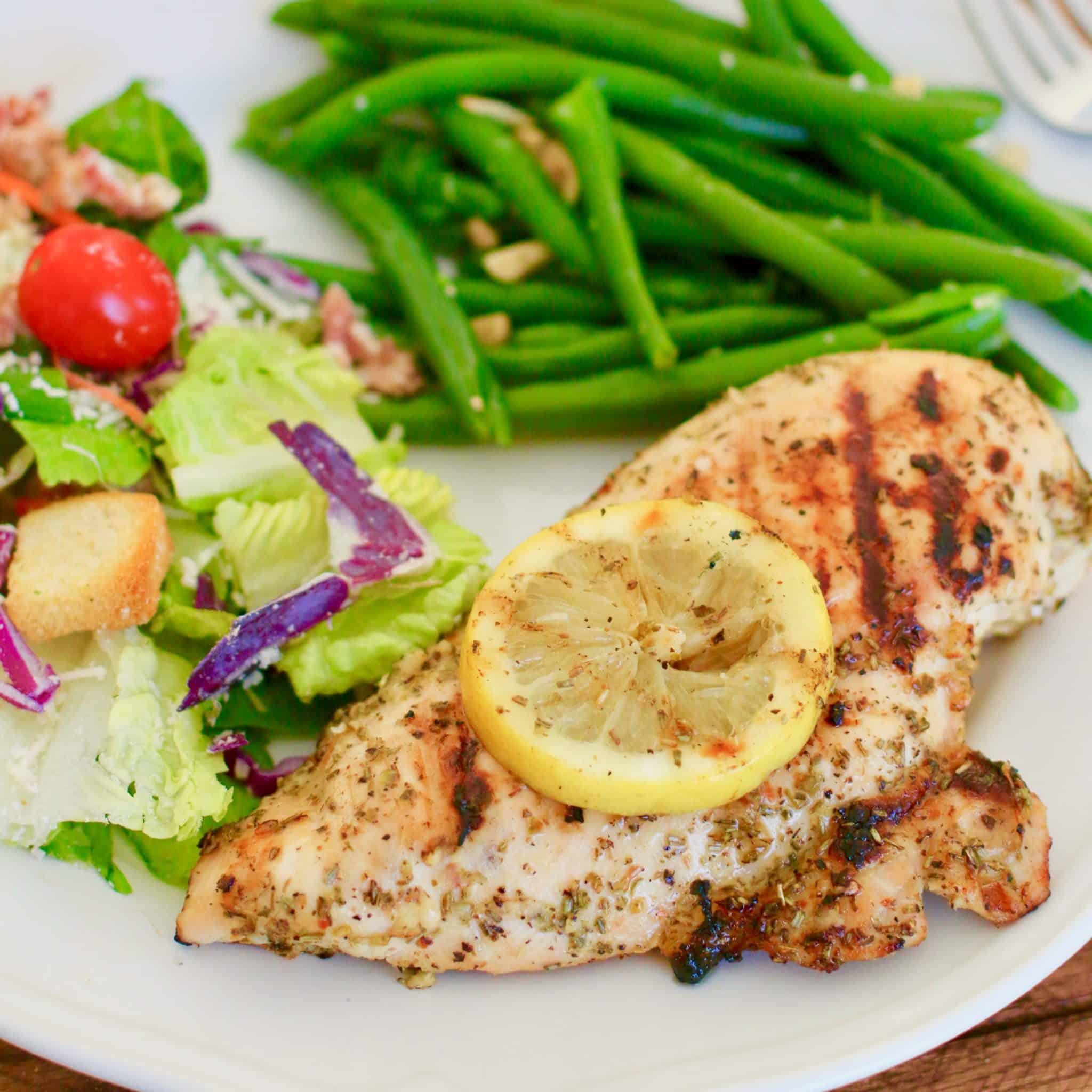 Grilled Italian Lemon Garlic Chicken The Country Cook