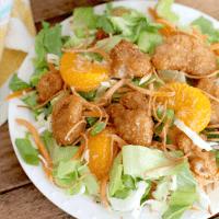 Copycat Applebee's Oriental Chicken Salad recipe
