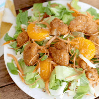 Copycat Applebee's Oriental Chicken Salad recipe