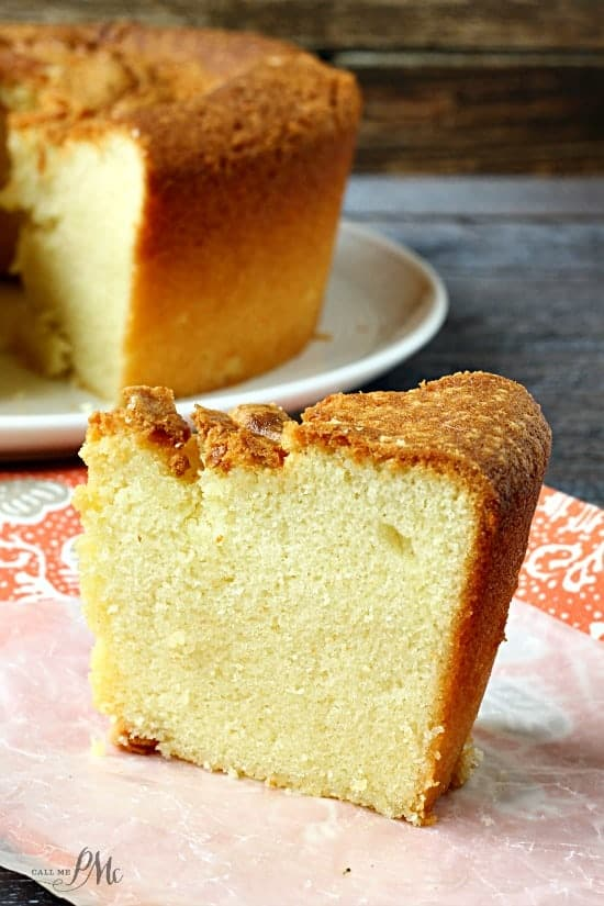 Old Fashioned Wedding Pound Cake