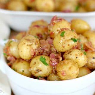 Warm Bacon Potato Salad