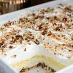 Coconut Cream Lush ~ Weekend Potluck #215