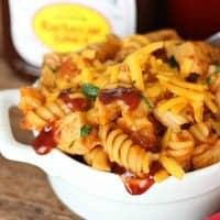 One Pot Barbecue Chicken Pasta