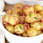 Warm Bacon Potato Salad recipe