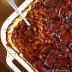 Best Ever Baked Beans ~ Weekend Potluck #218