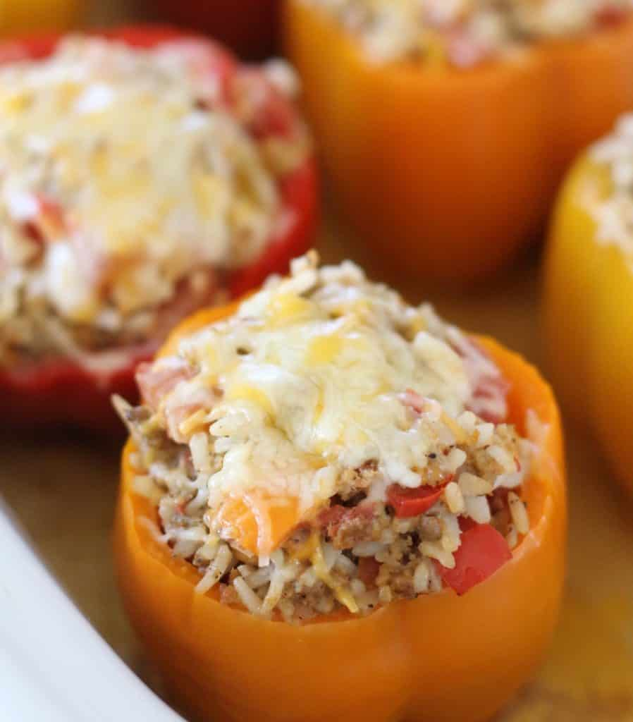 Country Style And Slow Cooked In The Crock: Crock Pot Stuffed Peppers