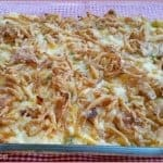 Unforgettable Chicken Casserole ~ Weekend Potluck #217
