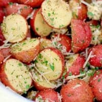 Crock Pot Garlic Parmesan Potatoes recipe