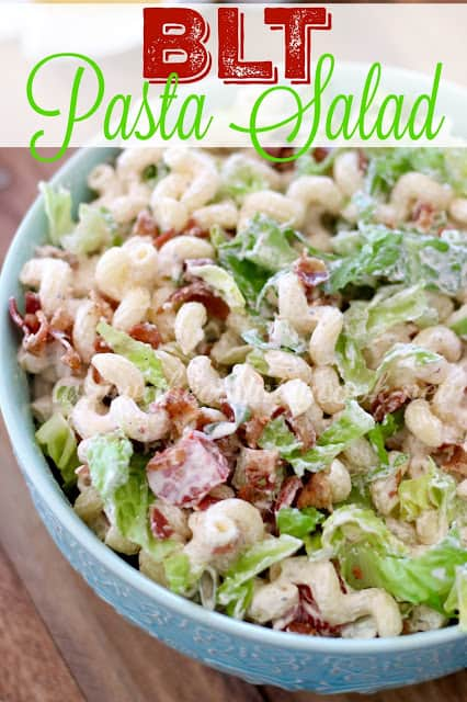BLT Pasta Salad - The Country Cook
