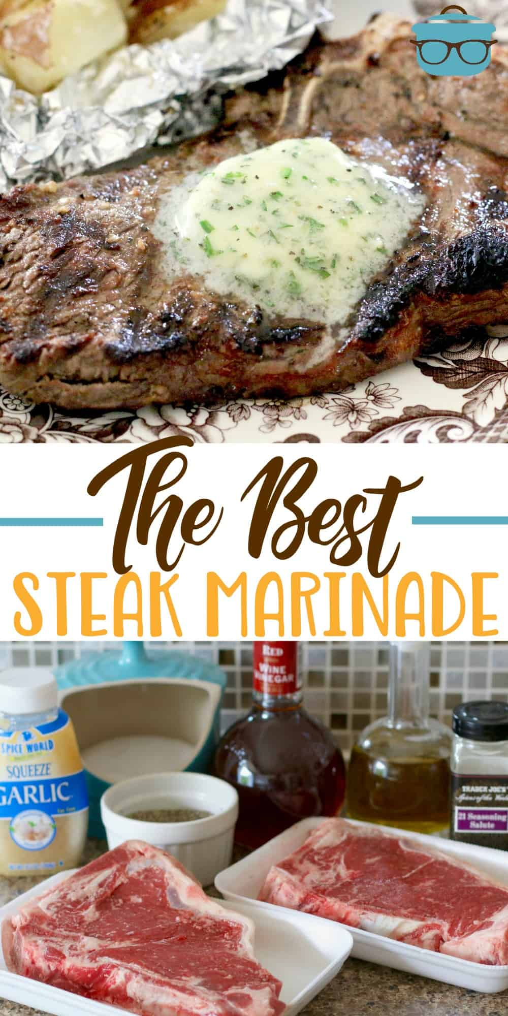 The Best Steak Marinade recipe from The Country Cook