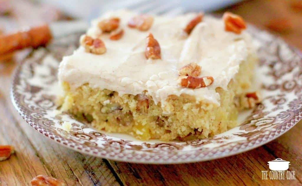 Hummingbird Cake Bars recipe