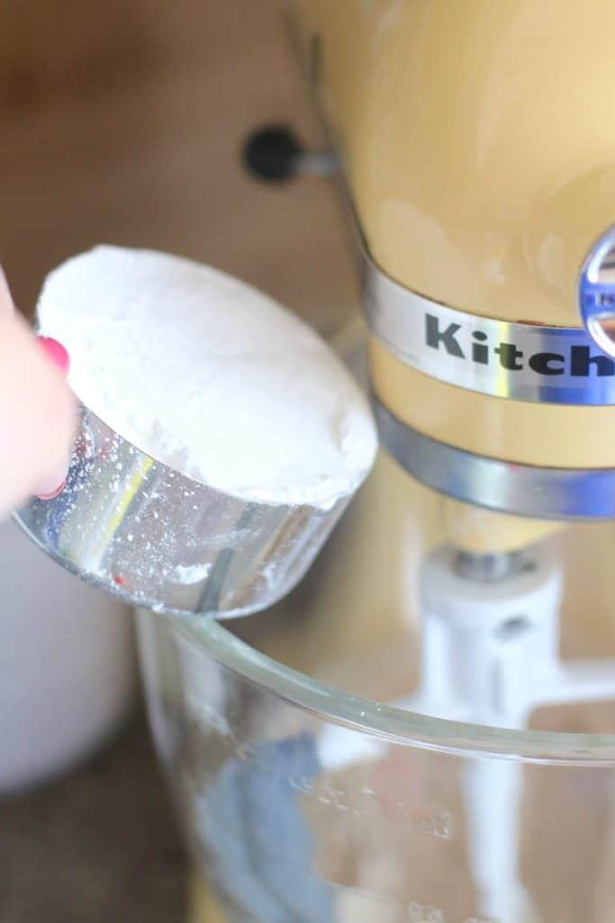 powdered sugar added cream cheese frosting