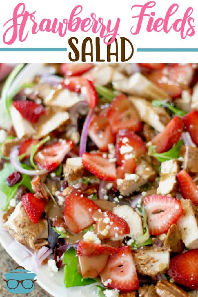 Strawberry Fields Salad recipe from The Country Cook