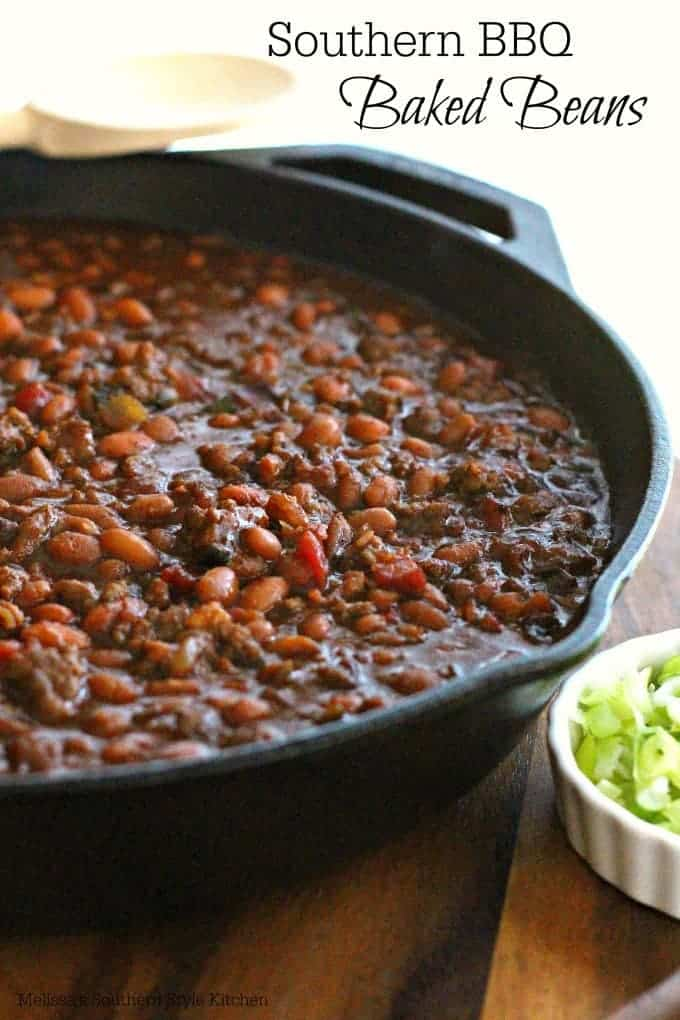 Southern BBQ Baked Beans ~ Weekend Potluck #225 - The ...
